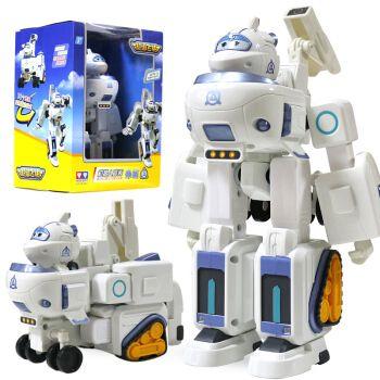 奥迪双钻超级飞侠玩具第9季雷克佩佩乐迪儿童小飞侠变形机器人场景