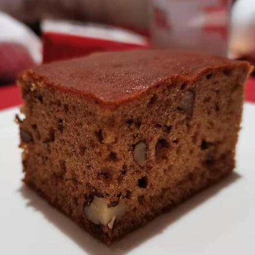 核桃红糖枣糕