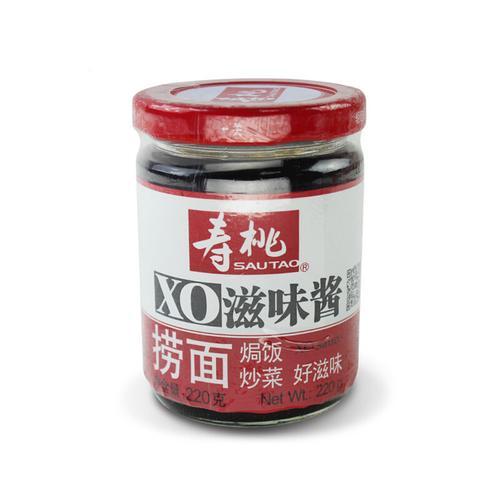 寿桃xo滋味酱220g 车仔面乌冬面拌酱拌面酱