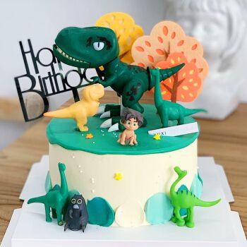 网红儿童侏罗纪恐龙生日蛋糕预定上海杭州成都天津哈尔滨苏州广州