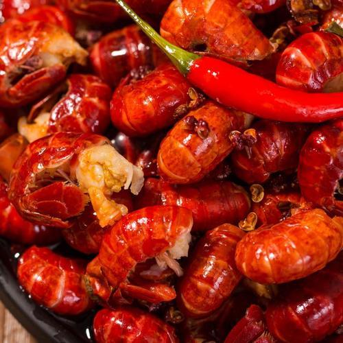 可芬芳麻辣虾尾香辣小龙虾新鲜现做好吃美味熟食500g