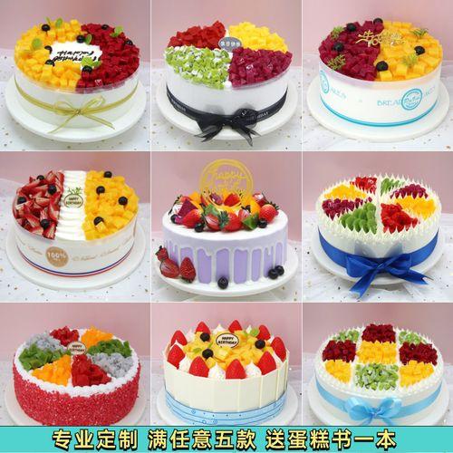 蛋糕模型仿真2021新款网红流行水果欧式奶油草莓塑胶