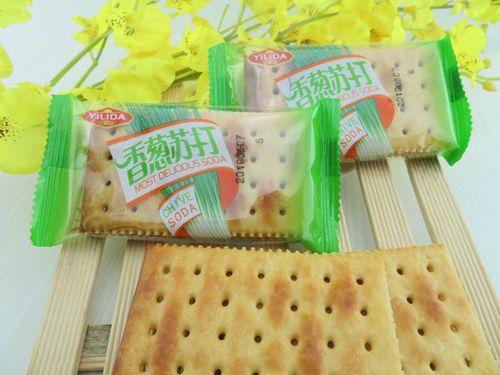 亿利达(雷布特)香葱苏打香葱味苏打饼干多省包邮早餐