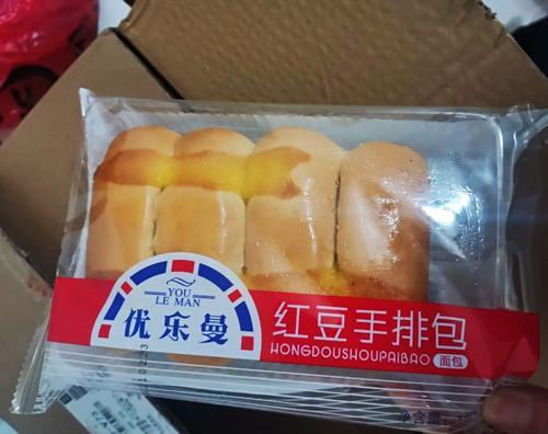奶香手排面包优乐曼红豆手排包办公室小零食扛饿手撕