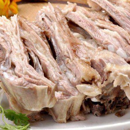 顺丰新鲜熟山羊肉手抓羊肉去皮去骨八成熟白切羊肉 2