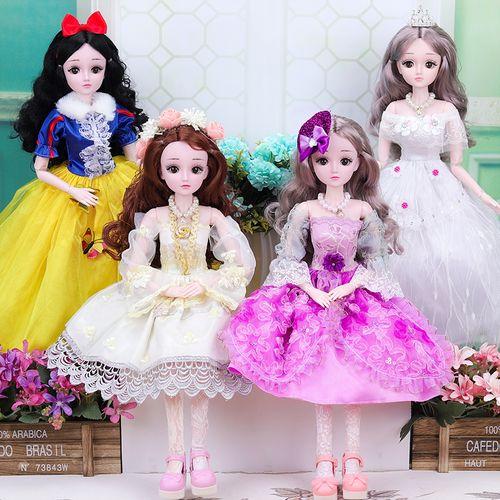 嘿喽芭比娃娃60厘米会说话的礼盒套装女孩玩具公主超