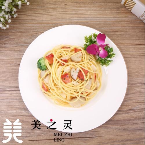 新品定制仿真培根意面意大利面食物食品模型假菜样品