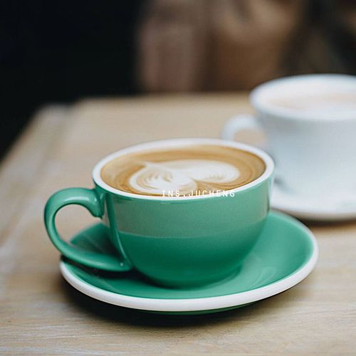 ins陶瓷咖啡杯 意式浓缩 拉花大口拿铁咖啡杯 卡布奇诺杯 220cc