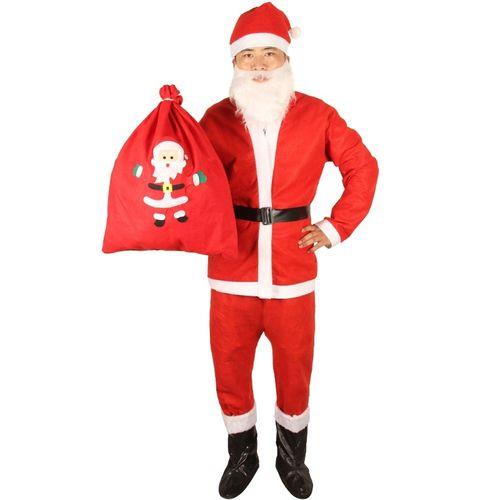 金丝绒化妆老爷爷幼儿园圣诞节服装圣诞老人衣服秋冬