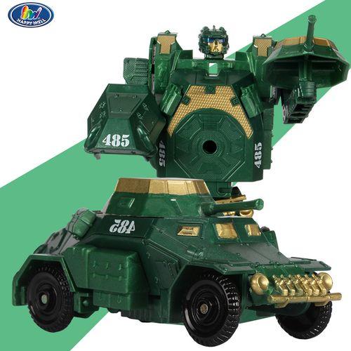 外贸原单正版新铁人装甲车汽车人模型激斗战车坦克玩具