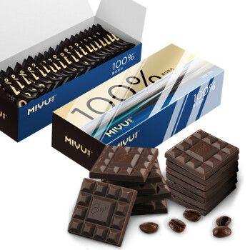 巧克力片盒装 多规格 多口味 休闲烘焙零食小包装 100%可可【无糖