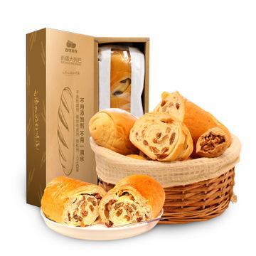 【零食】*西域美农大列巴面包早餐俄罗斯风味列巴