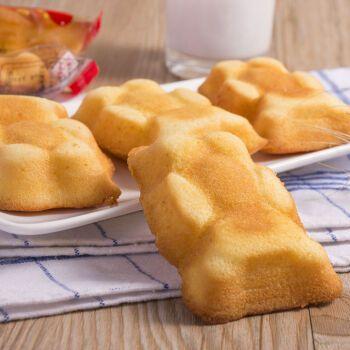 果果老爹 熊仔蛋糕卡通小熊面包早餐糕点心休闲零食品