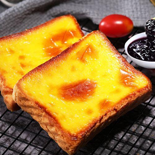 岩烧乳酪吐司夹心芝士蛋糕点心早餐面包整箱网红小吃