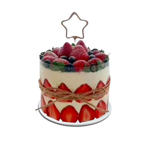 2020仿真生日蛋糕模型新款网红创意流行水果奶油欧式
