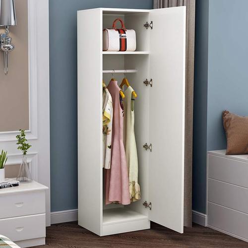 简r易衣柜单门衣柜一门儿童窄小型衣柜立柜衣橱收纳柜