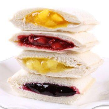 口袋面包酸奶乳酸菌小口袋菠萝夹心蛋糕网红糕点零食品早餐整箱 菠萝