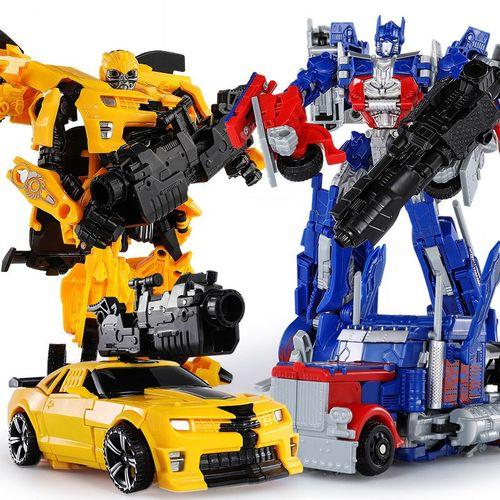 合金变形金刚擎天大黄蜂汽车机器人模型儿童玩具动漫