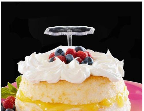 蛋糕玩偶底托垫透明塑料底托插件食品级奶油隔离裱花