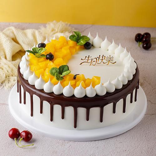 欧式水果蛋糕模型仿真2020新款 生日假蛋糕橱窗展示
