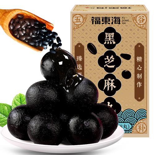 福东海黑芝麻丸72g黑芝麻黑豆黑米蜂蜜