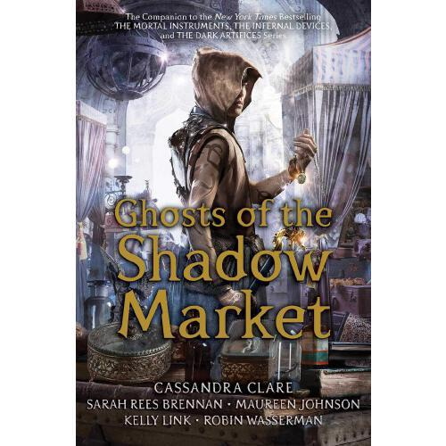 英文原版 暗影市场的鬼魂 短篇故事集 圣杯*系列 致命契约 骸骨之城