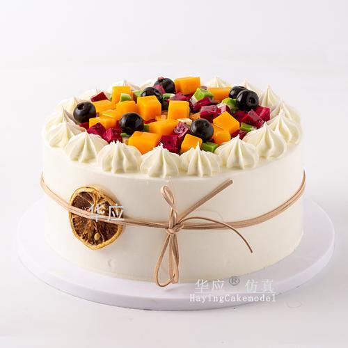 仿真水果蛋糕模型2020新款网红流行生日蛋糕卡通橱窗
