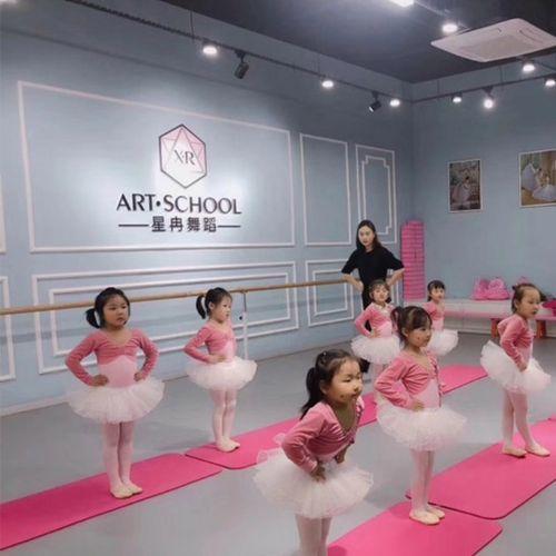 少儿艺术培训中心舞蹈室墙纸教育机构学校教室芭蕾