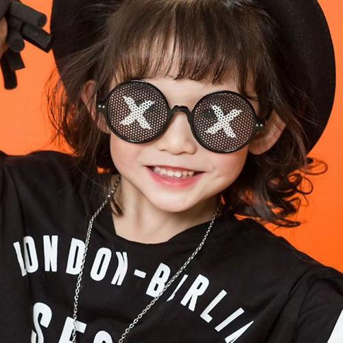 儿童拍照道具小孩摄影街拍配饰女童装饰眼镜潮