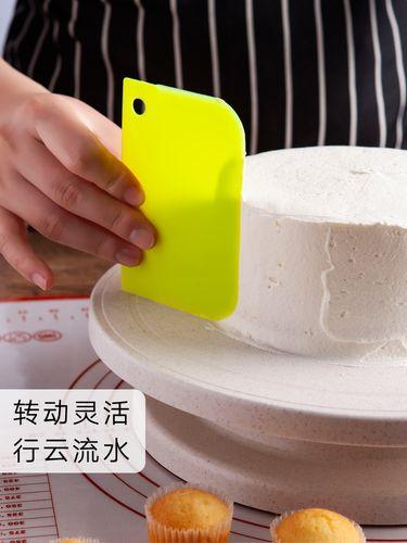糕转盘裱花转台裱花台旋转台做蛋糕的工具套装全套