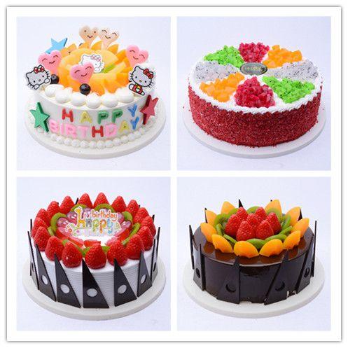 馨逸仿真蛋糕 2018新款欧式水果蛋糕 橱窗展柜水果