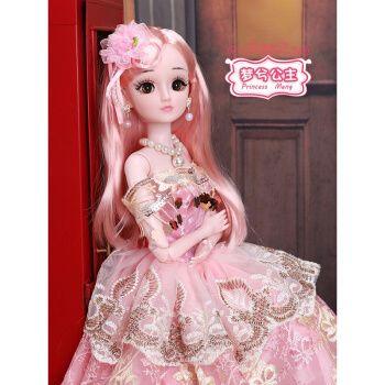 芭比娃娃黛蓝芭比特大号换装娃娃60厘米cm洋娃娃套装仿真巴比公主女孩