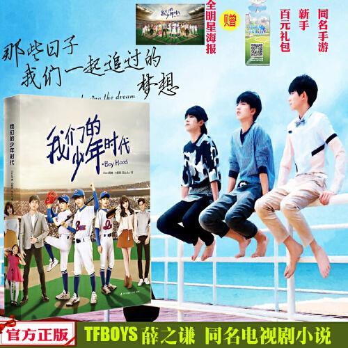 正版现货 我们的少年时代 热血棒球少年 tfboys青春小说 王俊凯王源易