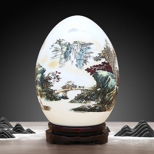 景德镇陶瓷现代新中式摆件家居饰品创意室内客厅博古