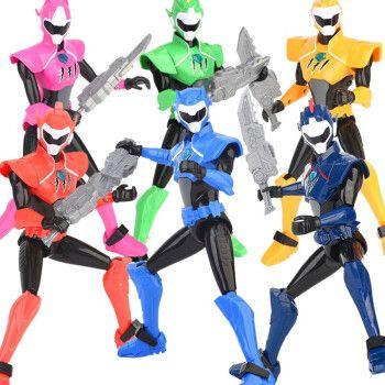 迷你特工队第三季超级恐龙力量3超可动声光人偶弗特塞米玩具全套x