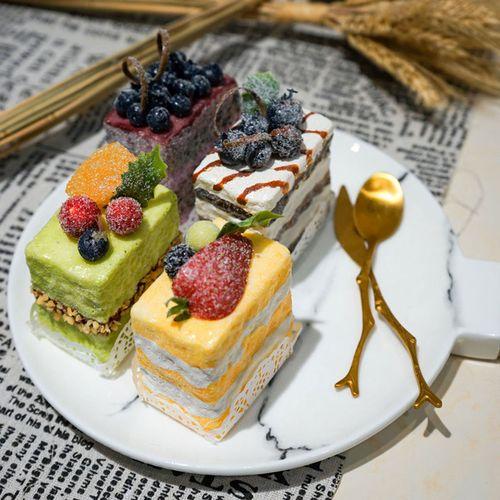 仿真食品切片模型 仿真小甜点蛋糕 仿真小点心假生日