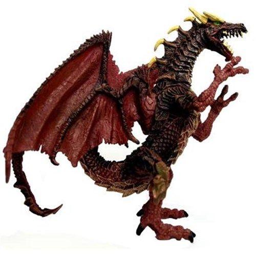 霸王仿真实心塑胶恐龙模型魔兽怪兽龙骑士飞龙玩具