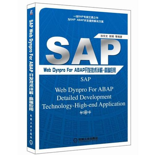 sap web dynpro for abap开发技术详解:高端应用sap