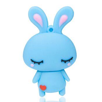 百艺卡通可爱小兔子盘创意迷你小兔子u盘优盘学生女生