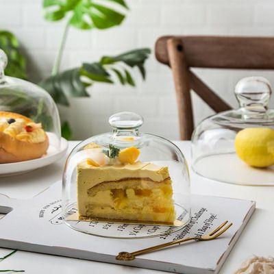面包盖子盖透明水果点心保鲜蛋糕欧式盖展示防尘甜品