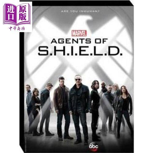神盾局特工:第3季设定集 英文原版 marvel's agents of s.h.i.e.l.d.
