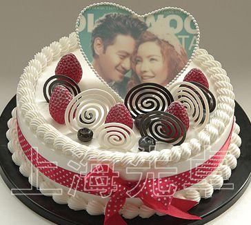 【正品】上海先卓仿真蛋糕模型 塑胶生日蛋糕 影像