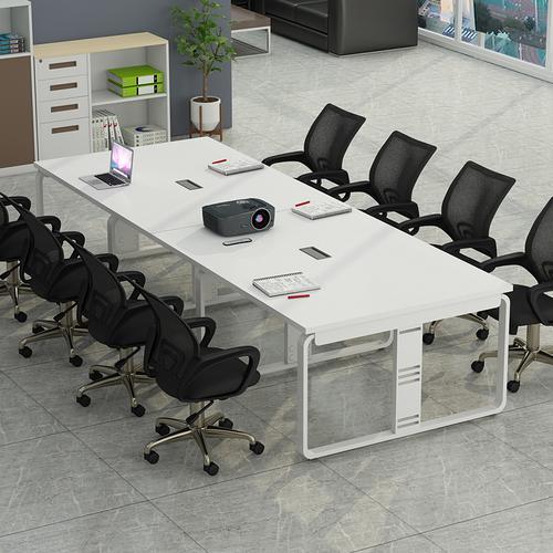 会议桌长桌工作大班台条形电脑桌培训洽谈桌简约现代