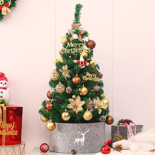 酒吧活动圣诞树1.8米1.8m小树1.5/1.8/2.1店铺幼儿园小型2.1米场