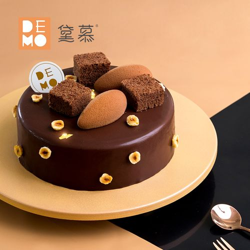 demo黛慕 巧克力三重奏·纯可可脂巧克力慕斯蛋糕