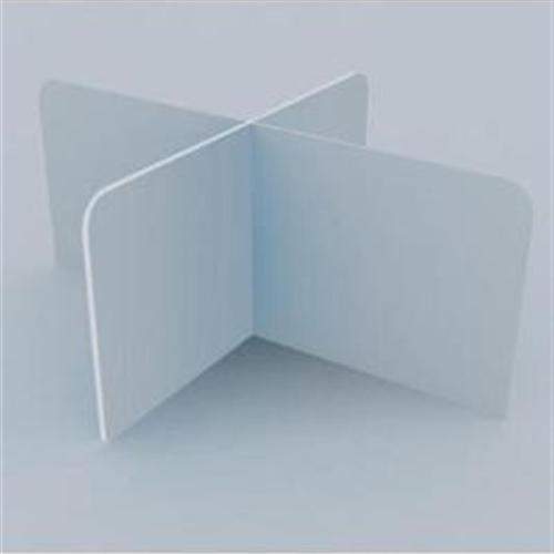 防疫挡板简易工厂防飞沫隔离防板工板学校定做十字挡板定制复护食