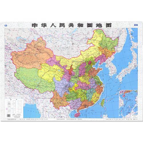 600w 中国政区学习地理 学校教学地图