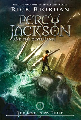 英文原版 波西.杰克逊与神火之盗 : 波西·杰克逊系列