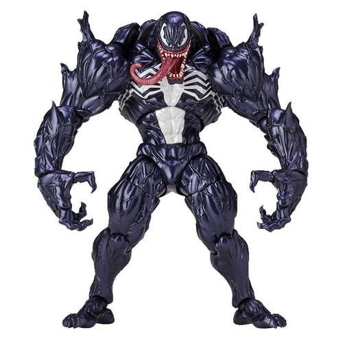 shf毒液蜘蛛侠复仇者联盟红色漫威6寸可动山口式