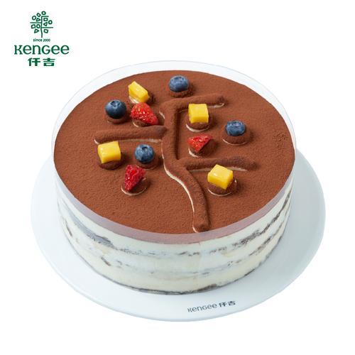 仟吉广西【仟仟提拉米苏】经典提拉米苏慕斯蛋糕  巧克力手指蛋糕